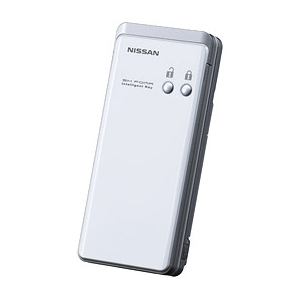 [インテリジェントキー搭載ケータイ] 日産のインテリジェントキーの機能を搭載した携帯電話