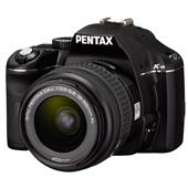 [PENTAX K-m] 1020万CCD/手ブレ補正機構/ゴミの写り込みを防ぐ「DR」機構を備えたエントリー向けデジタル一眼レフカメラ。価格はオープン