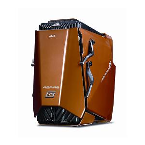 [Aspire G7700 ASG7700-A11] 2枚のGeForce 9800 GTX/Core 2 Quad 9650/4GB デュアルチャンネルDDR2メモリー/Blu-ray Discドライブを備えたゲーマー向けデスクトップPC