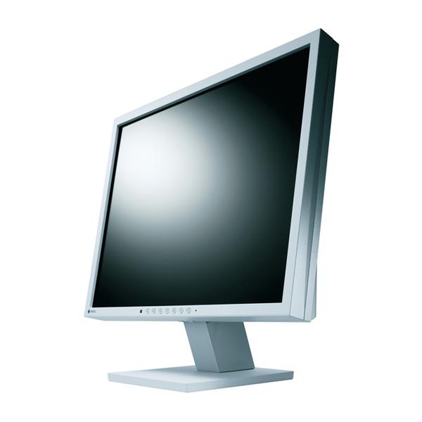 [S1901-BSTGY] コントラスト比800:1/輝度300カンデラ/応答速度5msの19型SXGA液晶ディスプレイ(セレーングレイ)。直販価格は49,800円(税込)