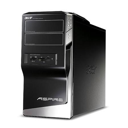 [Aspire M5621 ASM5621-A23] Core 2 Quad Q9550/GeForce 9800 GTX+/Blu-ray Discドライブを備えたデスクトップPC。市場想定価格は159,800円
