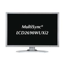 [MultiSync LCD2690WUXi2] コントラスト比1000:1/応答速度16msの25.5型WUXGA液晶ディスプレイ (ホワイト) 。価格はオープン