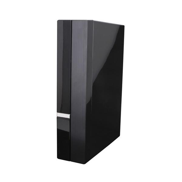 [CF-A6719 BK150] 150W電源や4cm冷却ファンを搭載したMini-ITXケース(ブラック)。直販価格は7,980円(税込)