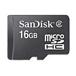[SDSDQ-016GS-J95M] SDスピードクラス「CLASS2」に対応したmicroSDHCカード(16GB)。価格はオープン