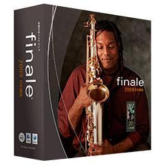 [Finale 2009] SmartMusicソフトシンセ/Garritan Instruments for finale/Aria Playerなどを搭載した楽譜作成ソフト。市場想定価格は63,000円前後