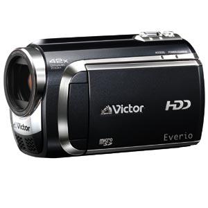 [GZ-MG880] 光学32倍ズームレンズやmicroSDHCカードリーダーを備えた薄型HDDビデオカメラ(120GB) 。価格はオープン