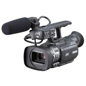 [GY-HM100] QuickTime(for Final Cut Pro)ファイルフォーマットに対応した業務用HDメモリーカードカメラレコーダー。価格はオープン