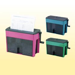 [NSH-401] 紙/CD/DVD/カードを裁断できるクロスカット方式のシュレッダー(紙2枚)。価格はオープン
