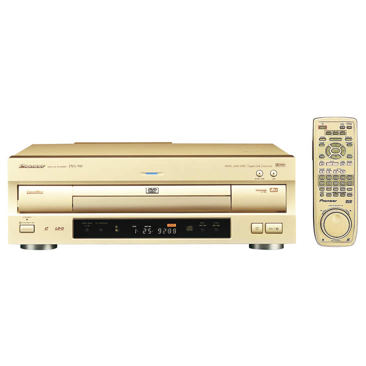 [DVL-919] DVD/LDコンパチブルプレーヤー。価格は120,750円(税込)