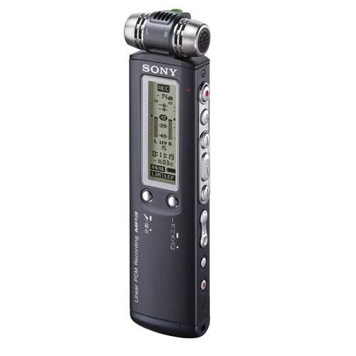 [ICD-SX900] 44.1kHz/16bitのリニアPCM録音に対応するICレコーダー(4GB)。市場想定価格は25,000円前後