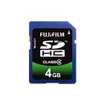 [SDHC-004G-C4] SDスピードクラス「Class4」に対応したSDHCカード(4GB)。価格はオープン