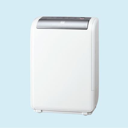 [MJ-H100DX] 夜干しモード/浴室カビガード/ふんわり厚手モードを備えたコンプレッサー+ヒーター式衣類乾燥除湿機。価格は74,550円(税込)