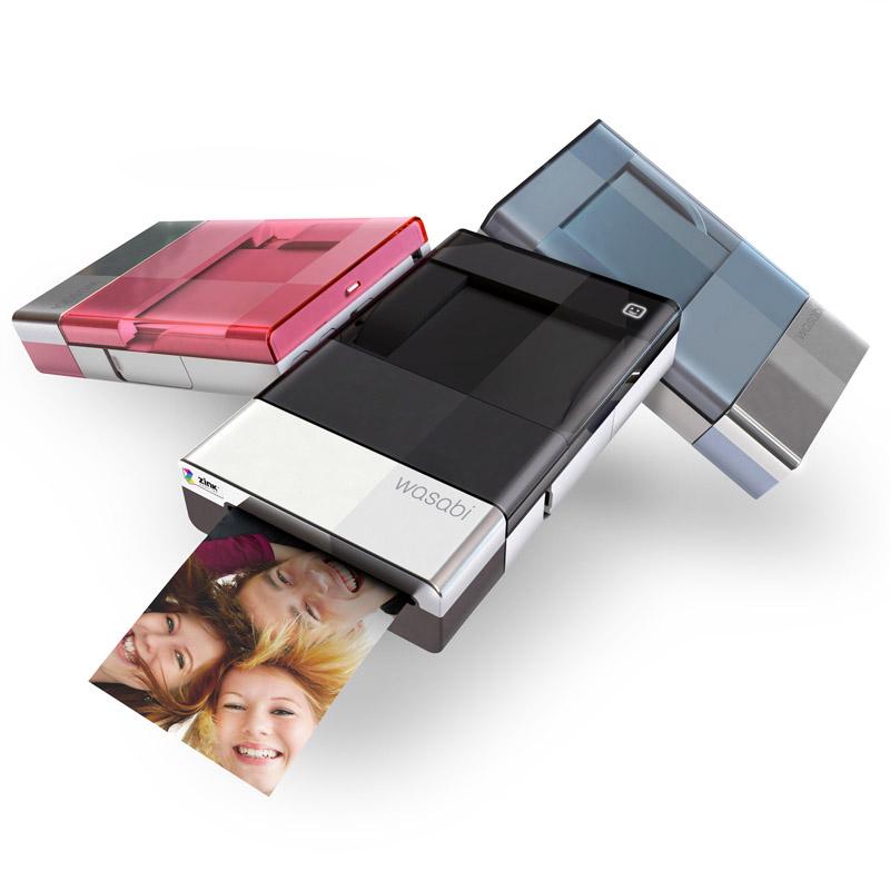 [Wasabi PZ310] インクカートリッジやインクリボンを使わずに写真をプリントできるモバイルフォトプリンター。価格は12,800円