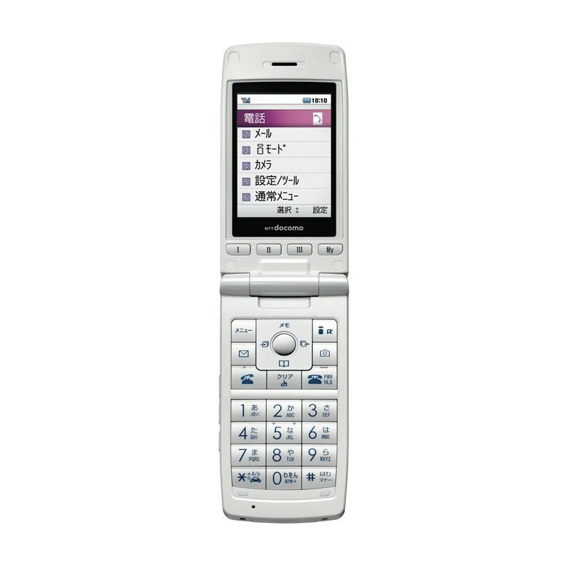 [docomo STYLE series L-03A] 4種類のワンタッチキーを備えた折りたたみ式携帯電話