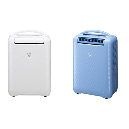 [CV-Y100] 高濃度プラズマクラスターイオン発生デバイスを搭載した冷風・衣類乾燥除湿機(除湿能力10.0L/日)。価格はオープン