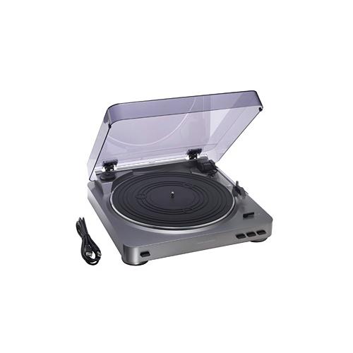 [AT-PL300USB] レコードをPCに録音できるUSB端子ステレオターンテーブルシステム。価格は25,200円(税込)