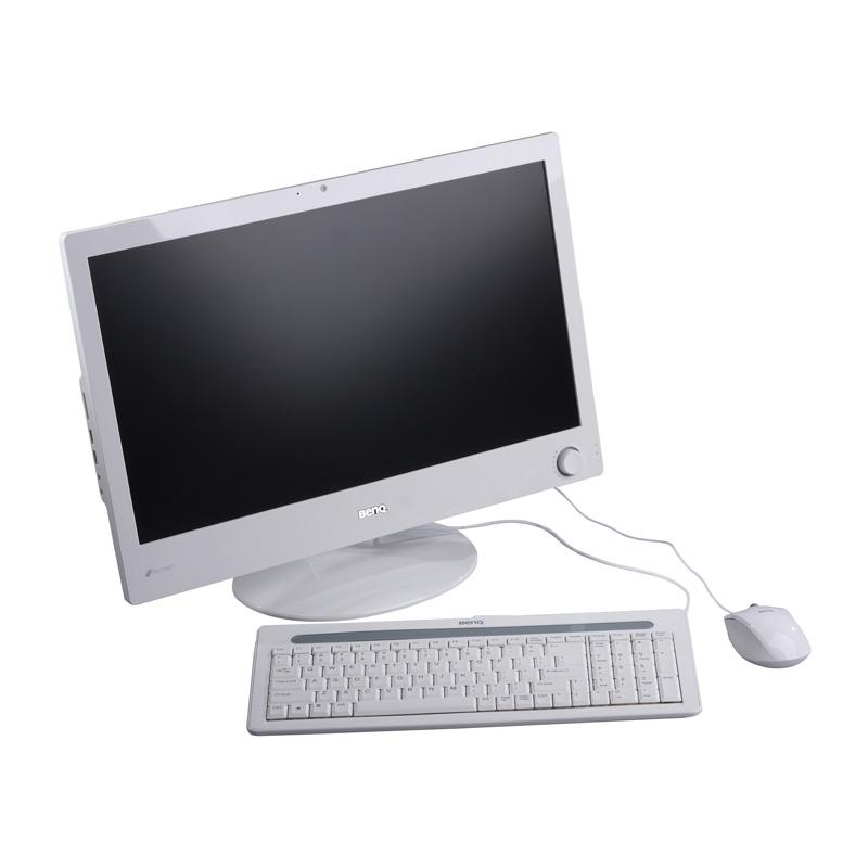 [nScreen i221] Sempron 210U/1GBメモリー/160GB HDDなどを備えたフルハイビジョン表示対応21.5型液晶一体型PC。市場想定価格は59,800円
