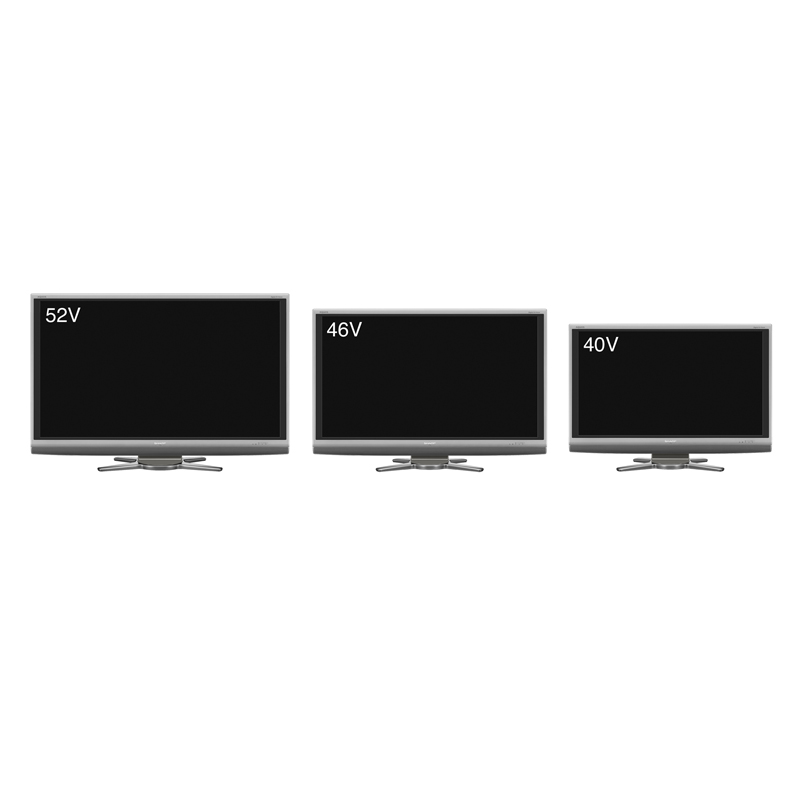 [AQUOS Aシリーズ] 独自の省エネ技術や節電機能を搭載したフルHD対応デジタルハイビジョン液晶TV。価格はオープン