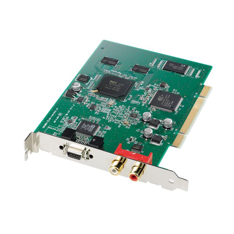 [GV-D4VR] NTTエレクトロニクス製1920×1080i対応1チップMPEG-2エンコーダLSI「LibraENC」を搭載したアナログビデオキャプチャボード。本体価格は31,700円