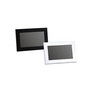 15種類のパターンを備えたスライドショー機能やマルチスタンドを採用した7型液晶搭載デジタルフォトフレーム