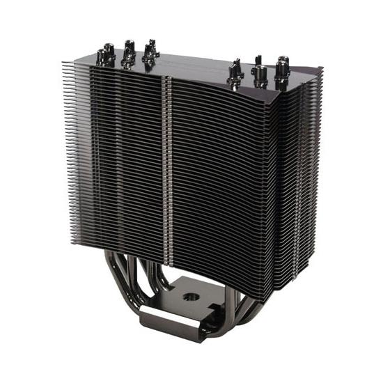 [TRue Black 120 Plus] リブ無しタイプの12cmファンを最大で2基搭載できるマルチソケット対応CPUクーラー