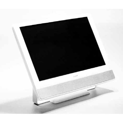 [CLAiR SK-DTV133JW] 地上デジタルチューナーを搭載した小型液晶TV(13.3型)。価格はオープン