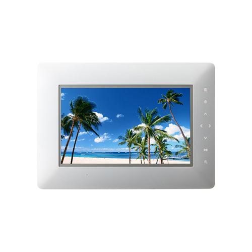[Photo Vision HW001] 携帯電話やPCから送信された写真を受信できる通信機能を搭載した7型WVGA液晶搭載デジタルフォトフレーム