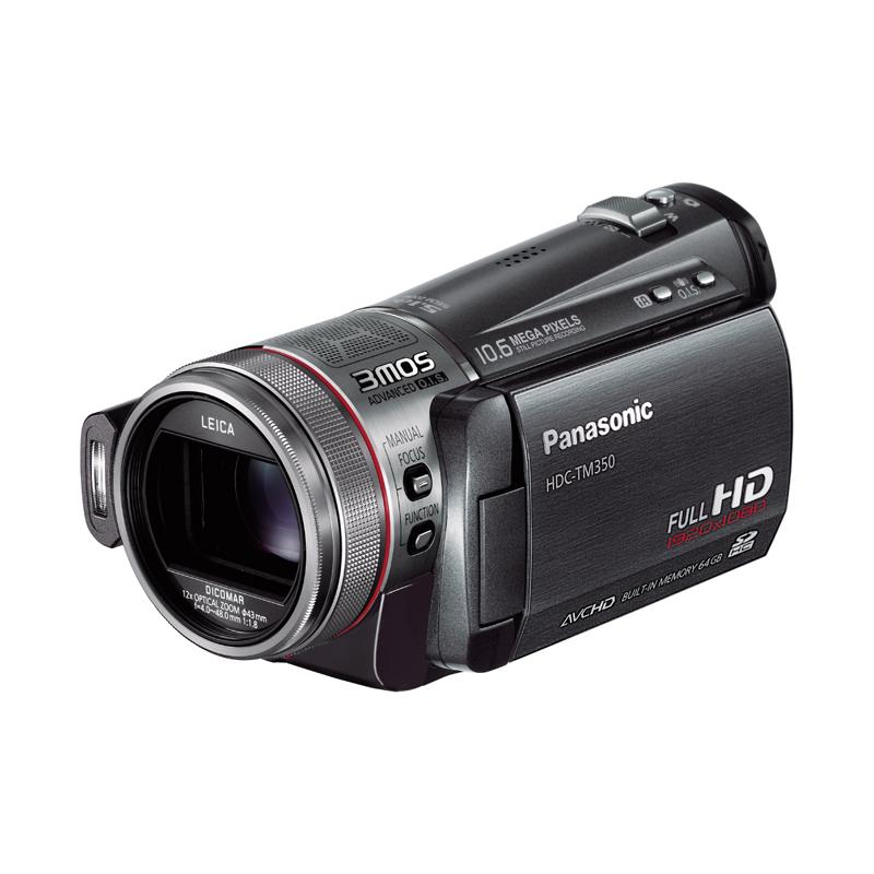 [HDC-TM350] 64GBのフラッシュメモリー/3MOS/新光学式手ブレ補正機能/光学12倍ズームなどを備えたデジタルハイビジョンビデオカメラ。価格はオープン