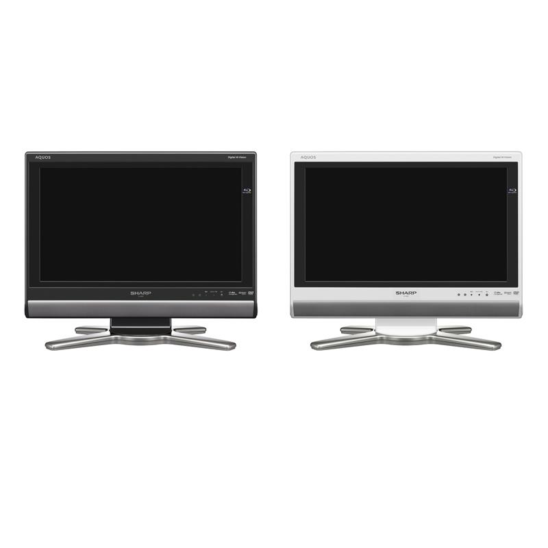 [AQUOS LC-20DX1] Blu-ray Discレコーダーを内蔵したデジタルハイビジョン液晶TV(20V)。価格はオープン