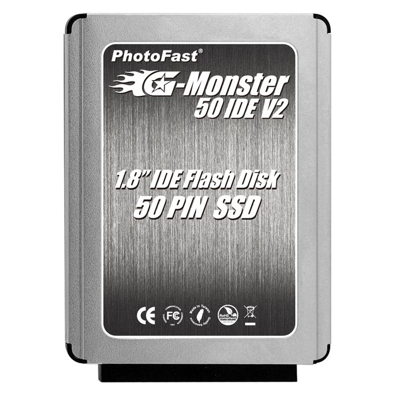 リ−ド最大毎秒85MB/ライト最大毎秒50MBのデータ転送速度を実現した1.8インチ50pin IDE用SSD。価格はオープン