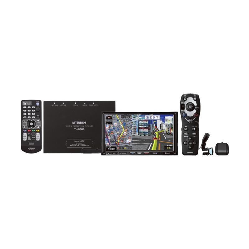 [NR-HZ001DP] ワンセグ対応地上デジタルTVチューナー/7V型モニター/DVD/CD/Bluetoothを備えたHDDカーナビゲーションシステム。価格はオープン