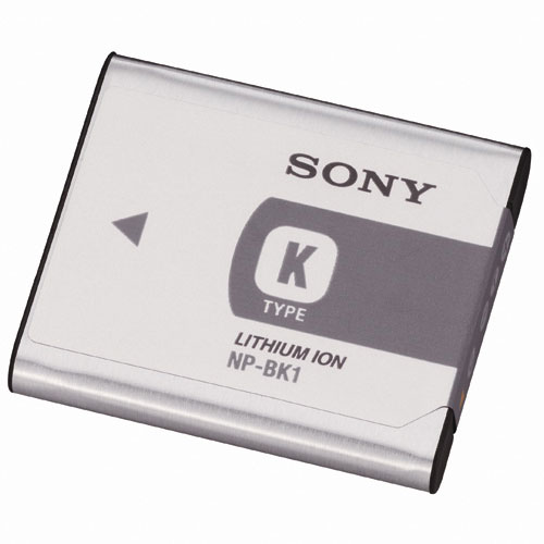 [NP-BK1] DSC-W190に対応するリチャージャブルバッテリーパック。価格は4,830円(税込)