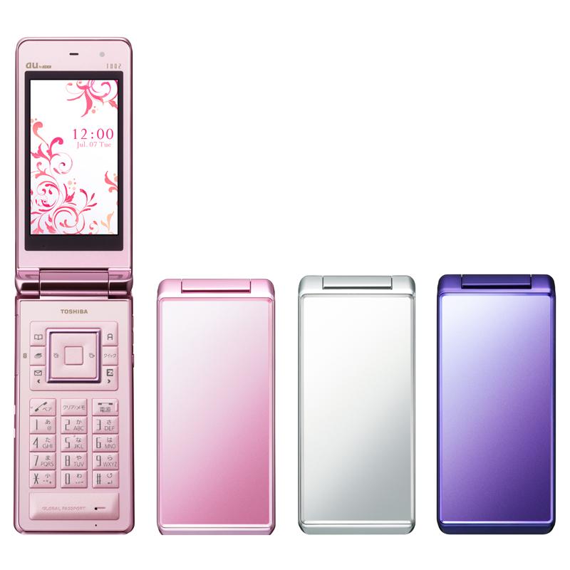 [T002] GSM・CDMAデュアルローミング/319万画素CMOSカメラ/IPX5・IPX7相当の防水性能などを備えた折りたたみ式防水ワンセグ携帯電話