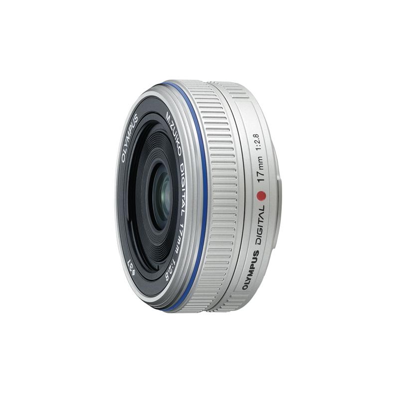 [M.ZUIKO DIGITAL 17mm F2.8] マイクロフォーサーズ規格に対応した薄さ22mmの超薄型広角パンケーキレンズ(最短撮影距離:0.2m)。価格は49,875円(税込)