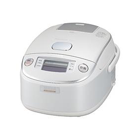 [極め炊き NP-LU18] プラチナナノ粒子コーティングの内釜/有機ELディスプレイ/熟成炊きを備えた真空内釜圧力IH炊飯器(1.8L)。価格は100,800円(税込)