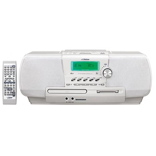 [RC-A2] サウンドリフターやαサウンド機能を備えたCD/MDポータブルシステム(ホワイト)。価格はオープン