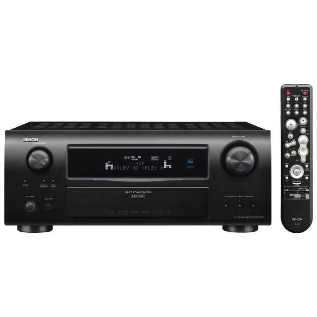 [AVC-3310] DolbyTrueHD/DTS-HD Master Audio対応の7.1ch AVアンプ(ブラック)。価格は126,000円(税込)