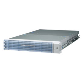 [iStorage NS480] Xeon 5520や80PLUS対応電源を搭載した2Uラック型NAS。本体価格は648,000円〜