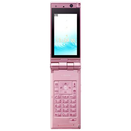 [docomo STYLE series P-03A Pink Metallic]