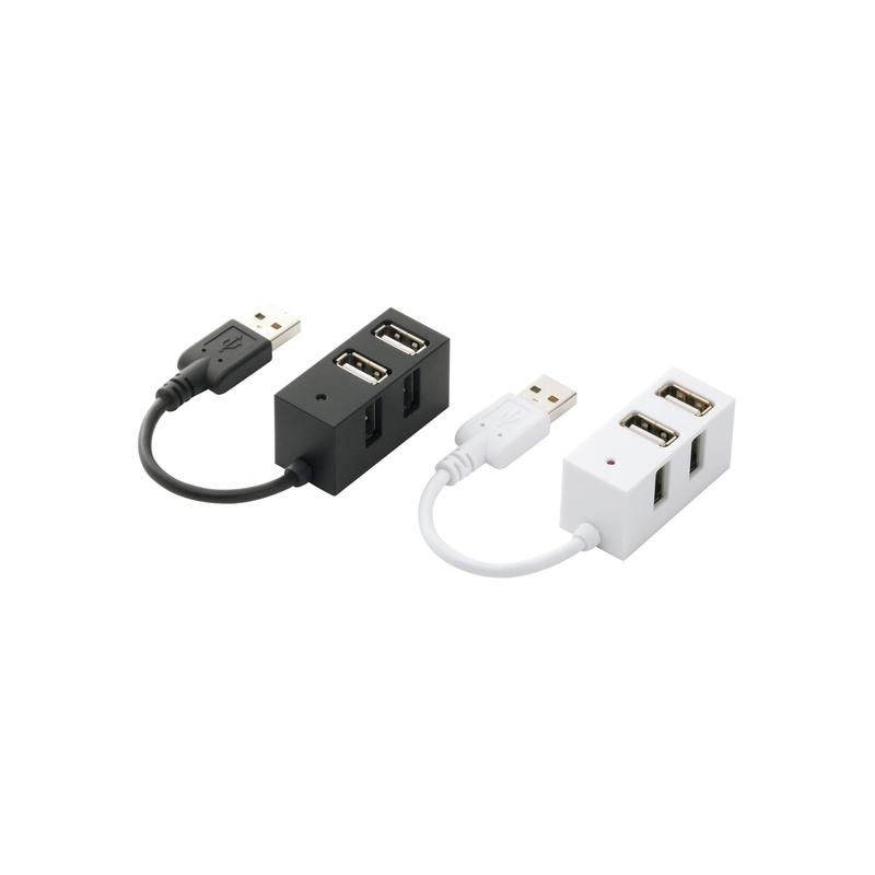 バッファローコクヨ、10ポートの小型USBハブなど