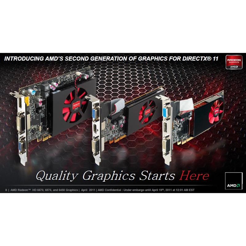 Radeon HD 6670/6570/6450