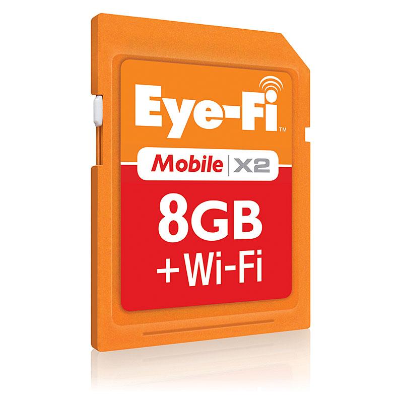 [Eye-Fi Mobile X2 8GB]
