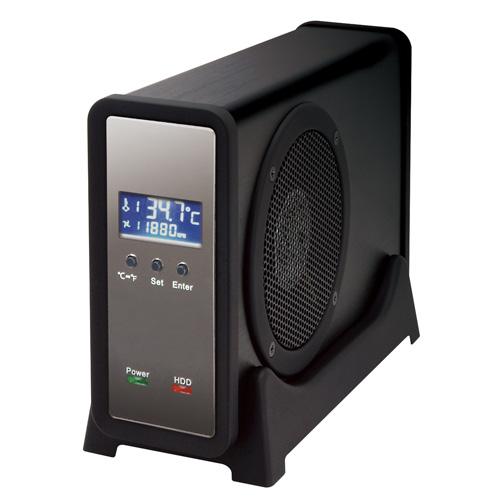 [二代目冷やし系HDD検温番 USB3.0+eSATA CLS35EU3BF]