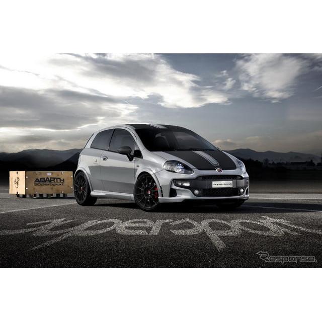 フィアットの高性能車開発部門、アバルトは13日にドイツで開幕するフランクフルトモーターショー11において...