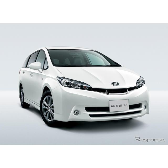 """トヨタ自動車は28日、『ウィッシュ』に特別仕様車「1.8S""""モノトーン""""」を設定して10月3日から発売すると..."""