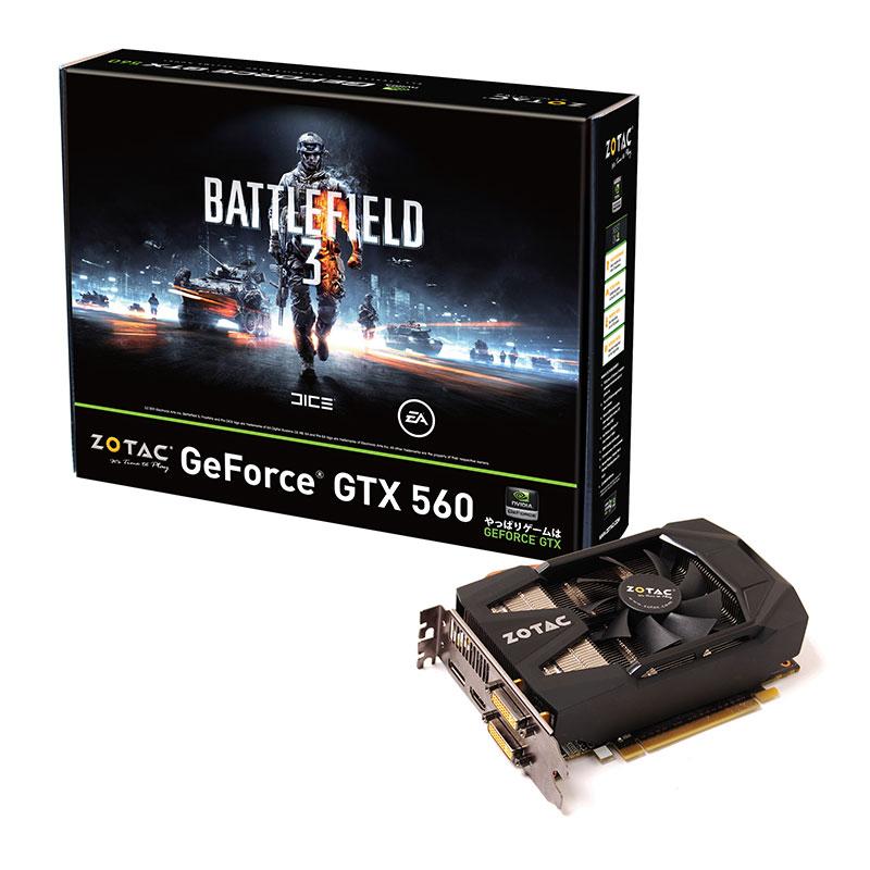 ZOTAC GTX560 1GB DDR5 SHORT BF3