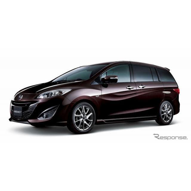 マツダは、ミニバン『プレマシー』に特別仕様車「20Sプレステージスタイル」を設定し、29日より販売を開始...