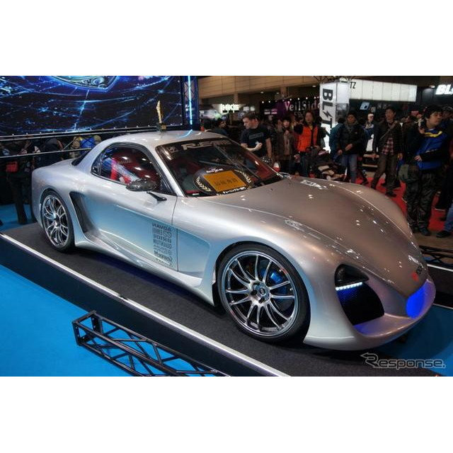 東京オートサロン2012出展車両の中から一般投票で選ばれる「東京国際カスタムカーコンテスト2012」で、RE雨...