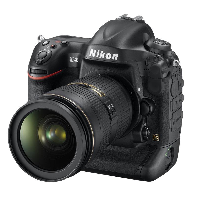 ニコン D4(AF-S NIKKOR 24-70mm f/2.8G ED装着時)