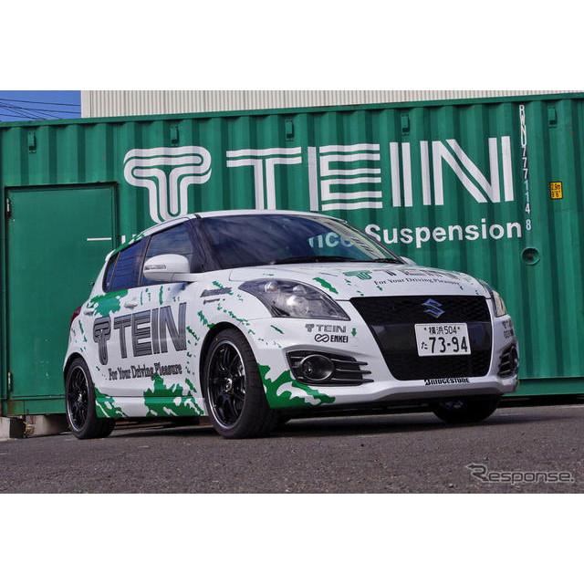 スイフトスポーツ テイン ストリートアドバンス装着車